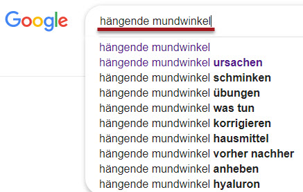 Google Suggest Content Ideen