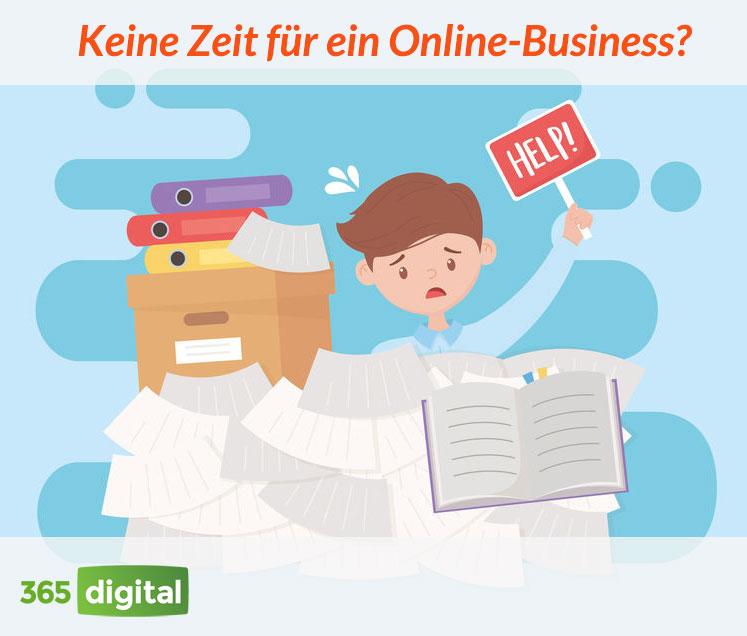 Keine Zeit für ein Online-Business