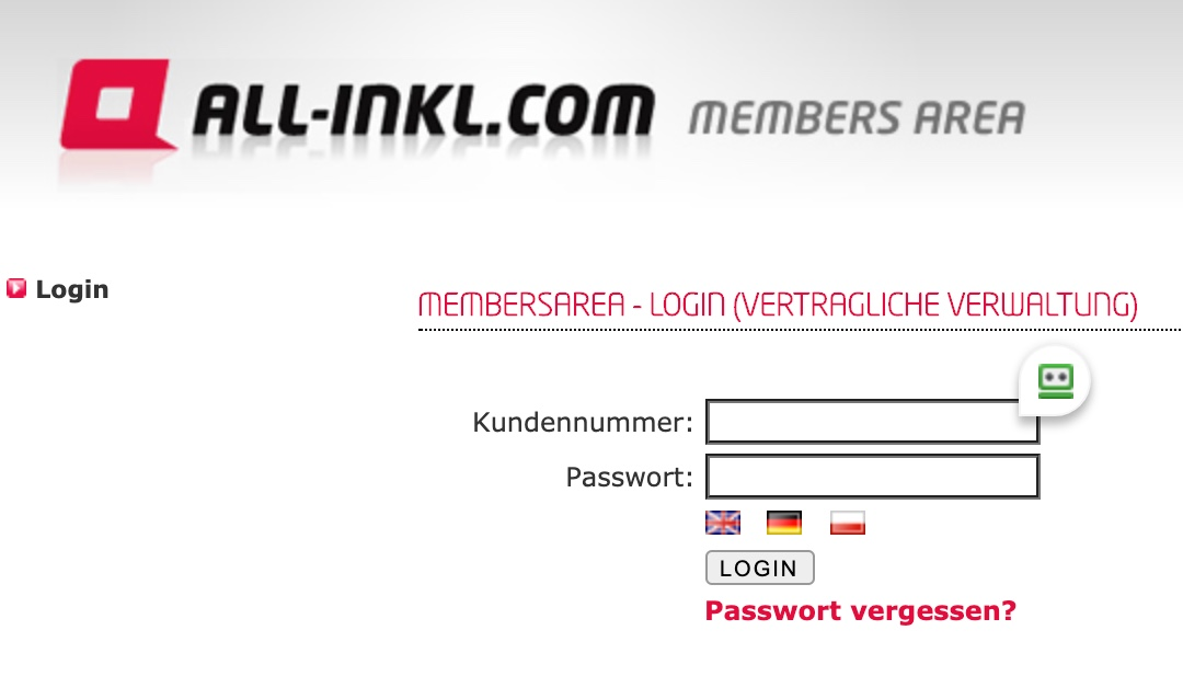 All-inkl Login