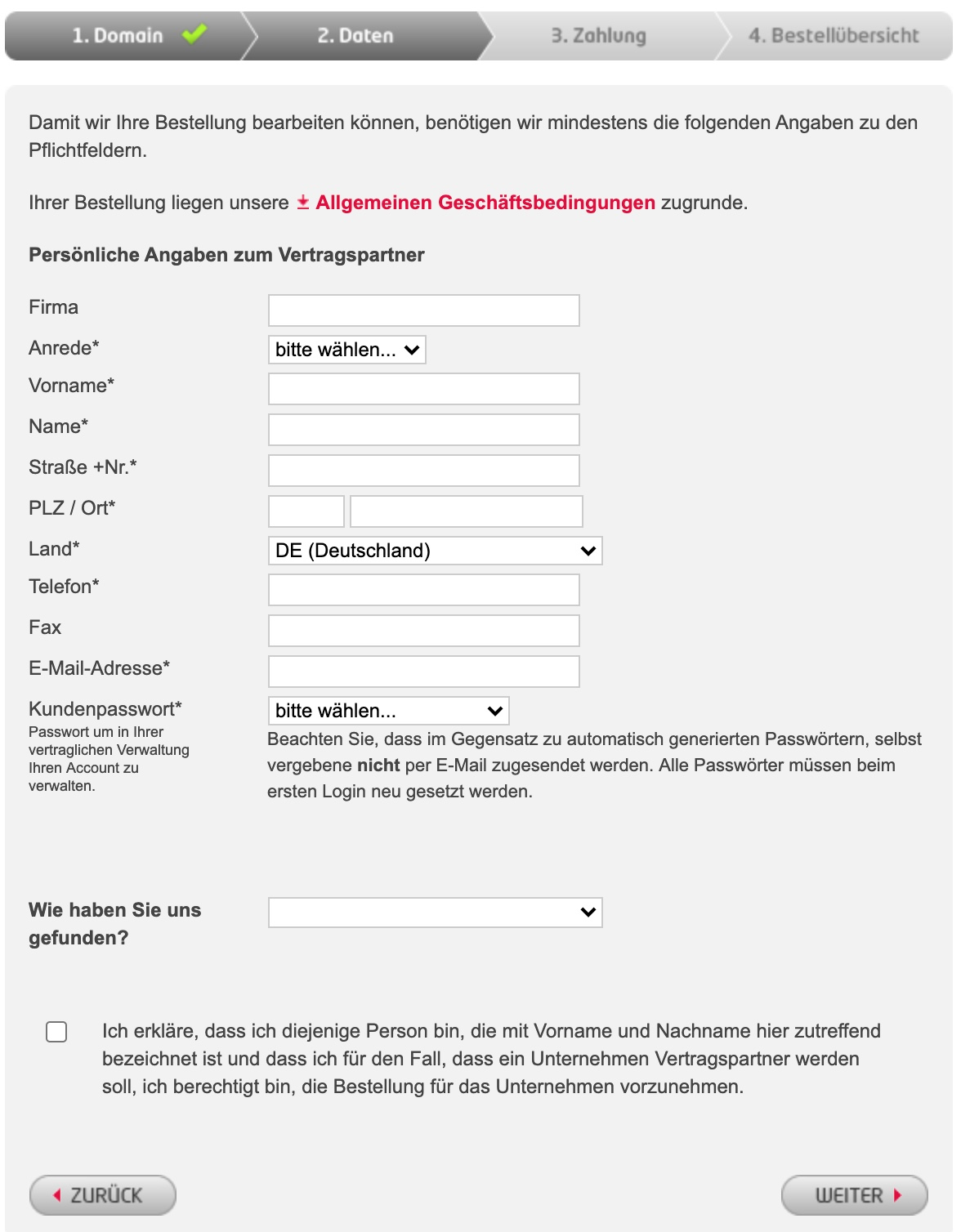 All-inkl Userdaten