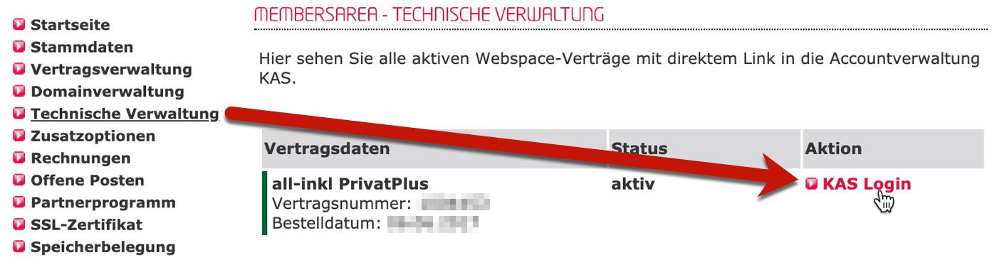All-inkl Technische Verwaltung