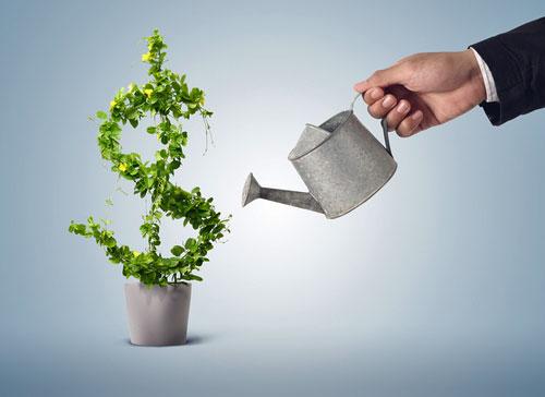 Verdientes Geld wieder reinvestieren