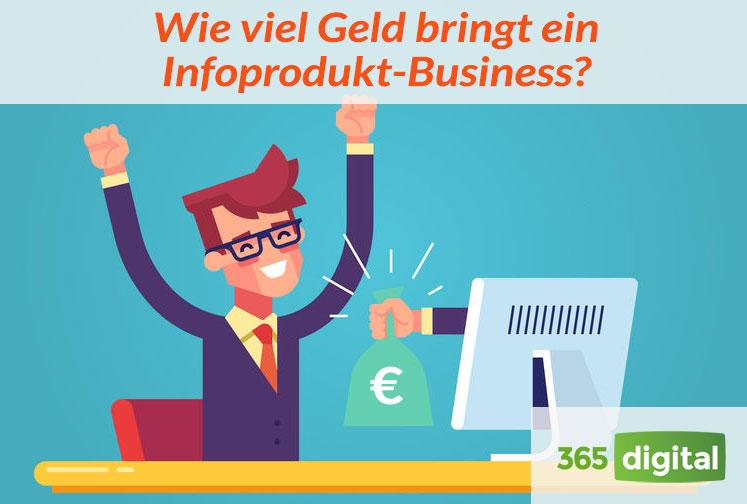 Wie viel Geld bringt ein Infoprodukt-Business?