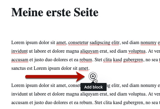 Add-Block in WordPress