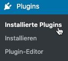 Installierte Plugins