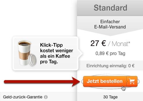 Klick-Tipp bestellen