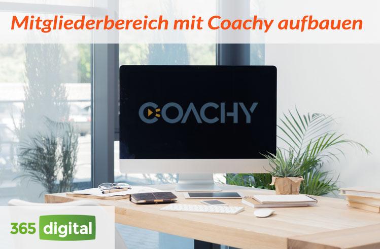 Mitgliederbereich mit Coachy aufbauen