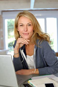 Firmengründerin Sabine